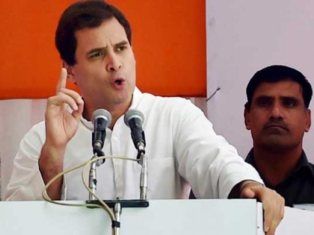 گاندھی کے قتل میں ایک تنظیم کے طور پر کبھی آر ایس ایس پر الزام نہیں لگایا:راہل گاندھی