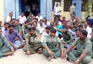 بیسکام ملازم پر جان لیوا حملہ :ملزوم کو گرفتار کرنے کا مطالبہ