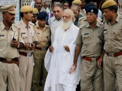 Life-long jail to Asaram, 20 years each to two accomplices for raping minor