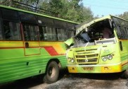 1 dies, 7 injured as two KSRTC buses meets head-on collision near Sirsi