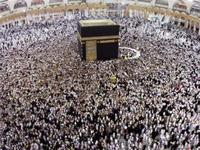 ایک ملین سے زائد عازمین حج کی سعودی عرب آمد