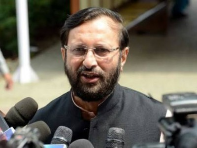 Javadekar hits out at Rahul Gandhi for attacking Modi