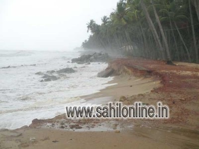 Sea erosion worries people in Byndoor