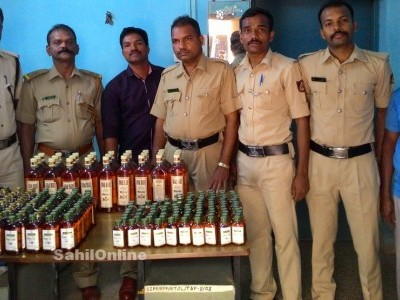 Karwar district saw highest seizures of liquors during elections