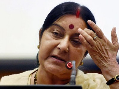 Countries like US, Japan, China aging, India getting younger: Sushma Swaraj