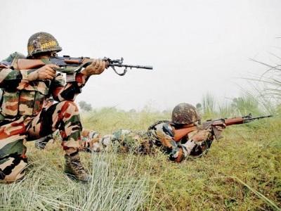 باندی پورا- کپواڑہ علاقہ میں دہشت گردوں کے ساتھ جھڑپ، ایک جوان شہید