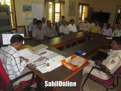 Preparatory meeting for Kannada Rajyotsava held at Tahshildar office, Bhatkal