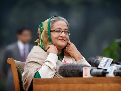Sheikh Hasina announces to build 560 model mosques, Islamic university in Bangladesh