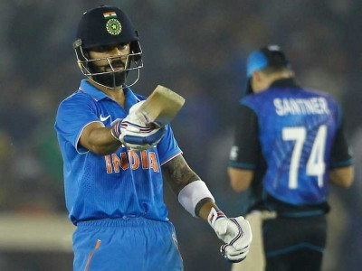 Kohli, Dhoni lead India to series-levelling win in Adelaide