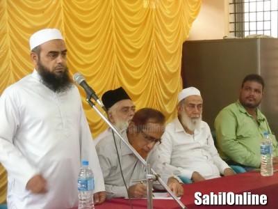 North Kanara Muslim United Forum held Signature campaign in Kumta against law panel move on uniform civil code