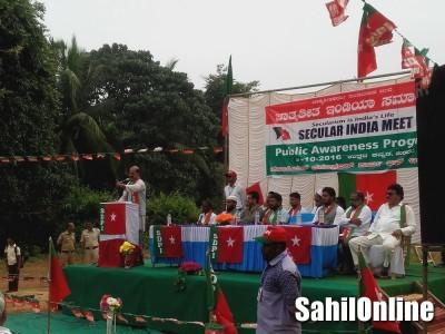 SDPI Uttara Kannada organized a function inaugurating the Secular India Meet at Honnavar