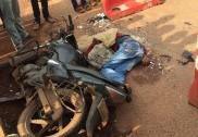 Tanker-bike collision in Shiroor, one dead