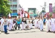 Kerala politicians kill stray dogs, rally around with carcasses