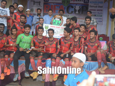 Organiser BIFA wins state level Football tournament in Bhatkal