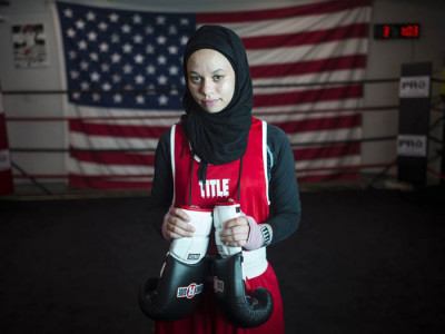 Muslim boxer wins the right to fight in hijab in US