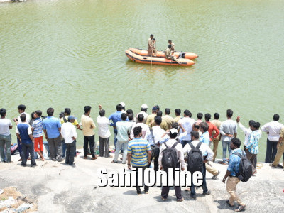 Mother, son drown in quarry pit at Udupi