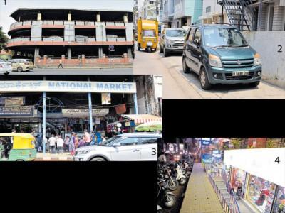 مرکزی کاروباری ضلع میں مزید تین پارکنگ مقامات
