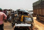 1 killed, 7 injured as Omni collides with Bolero pickup at Kumta