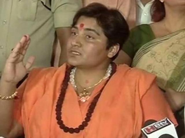 I'm victim of Chidambaram's 'saffron terrorism' bogey: Sadhvi