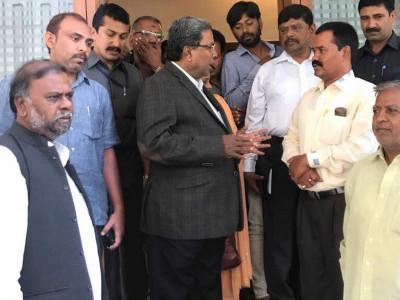 کرناٹک کے وزیراعلیٰ سدرامیا سہ روزہ دورۂ دوبئی پر روانہ
