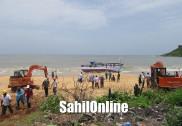 بیچ سمندر میں بوٹ میں خرابی؛ توازن کھوکر بہتی ہوئی بوٹ بھٹکل کےنستار ساحل پہنچنے میں کامیاب : تمام 20ماہی گیر محفوظ