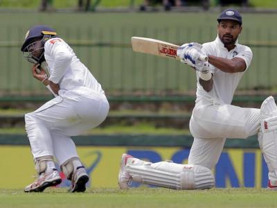 Pallekele Test: Dhawan, Rahul shine before Lanka fight back