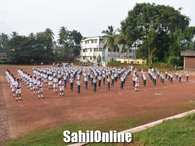 Patriotic fervour marks Independence Day celebrations in various schools in Bhatkal