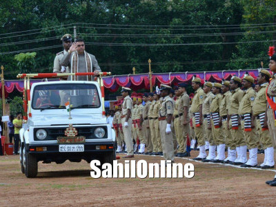 Udupi District Celebrates Independence Day