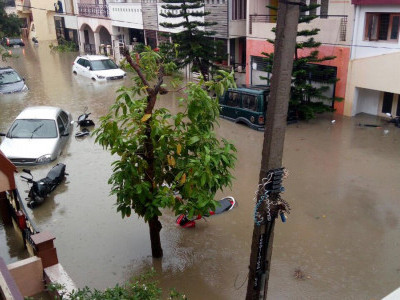 Overnight heavy rains wreak havoc in Bengaluru