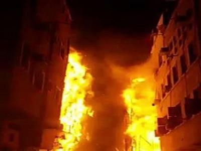 جدہ کی تین تاریخی عمارتوں میں خوفناک آتش زدگی،ریسکیو ٹیموں فوری کارروائی کرکے آگ پر قابو پالیا