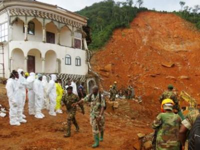 سیرالیون میں سیلابی کیچڑ سے ہلاکتوں کی تعداد 400 تک پہنچ گئی