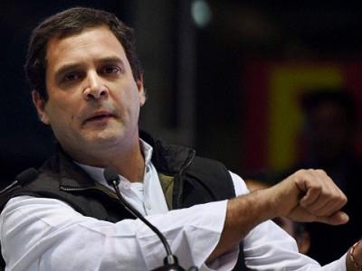 راہل گاندھی بولے، پی ایم نریندر مودی کو''سوچھ'' اور ہمیں ''سچ بھارت'' چاہئے