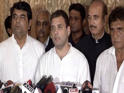 Don't want this kind of 'New India': Rahul Gandhi on Gorakhpur tragedy