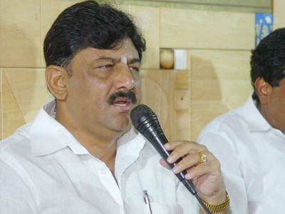BJP trying to destabilise Karnataka govt: DK Shivakumar