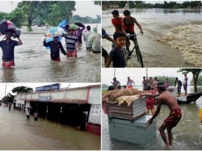بہار میں سیلاب سے صورتحال ہنوز تشویشناک،اب تک 253 افراد کی موت ، 1.27 کروڑ افراد متاثر