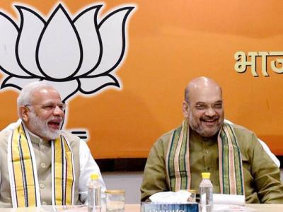 بی جے پی کی زیرقیادت ریاستوں کے وزراء اعلی کے ساتھ مودی۔شاہ کی میٹنگ اگلے ہفتے