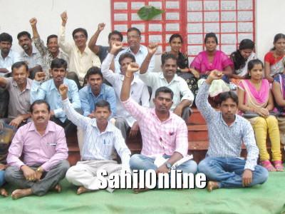 بھٹکل:دیہی پوسٹ ملازمین کا احتجاج 7ویں دن بھی جاری