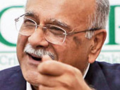 سری لنکا کو منانا بہت مشکل تھا:نجم سیٹھی