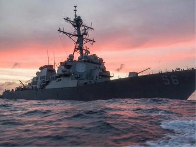 امریکی بحریہ کا حادثے کے بعد دنیا بھر میں آپریشنل سرگرمیاں روکنے کا اعلان