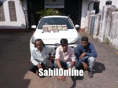 Transporting Hawala Money: Cops nab 3, seize Rs 1 crore in Mangaluru