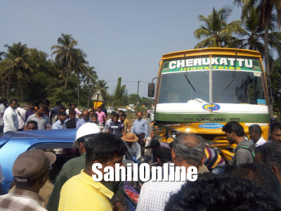Car - Truck accident near Udupi claims life of two people