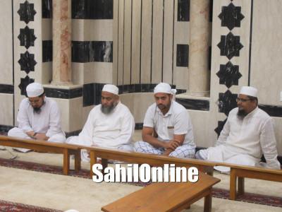 Shabeena Maktab program held at Abdullah Anwahi Masjid