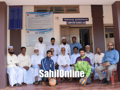 Two students of Anjuman Degree College selected to represent the  Karnataka University in Football and Volleyball