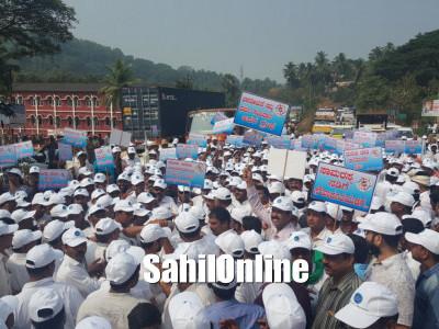 'Walk for Harmony', a padayatra promoting communal harmony in Dakshina Kannada