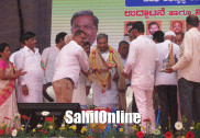 Bhatkal: CM Siddaramiah fires salvos at PM Modi, Minister Hegde, inaugurates developmental works worth 1200 crores
