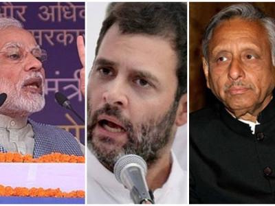 Mani Shankar Aiyar calls PM 'neech aadmi', Rahul asks him to apologise