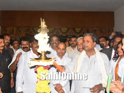 Karnataka CM Siddaramaiah inaugurates 67 works worth `707.57 crore, including a medical college and an engineering college in Karwar