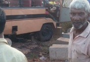 Tempo hits bike at Kumta NH66; 1 killed, 4 injured.