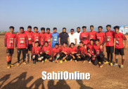 KUD single zone inter collegiate Football tournament kicks off in Anjumanabad, Bhatkal