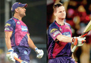 Dhoni removed as Pune captain, Smith to take over